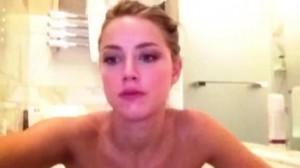 Amber Heard fully naked