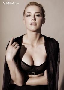 Amber Heard sexy dress