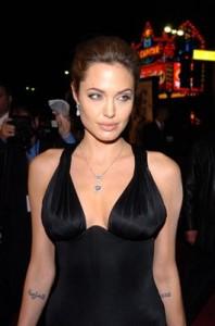 Angelina Jolie paparazzi sexy pic