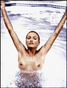 Cameron Diaz fully topless