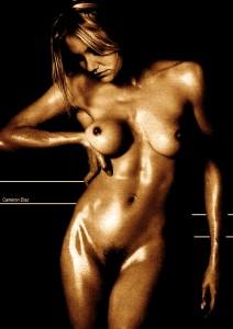 Cameron Diaz naked