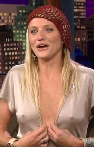 Cameron Diaz nipples