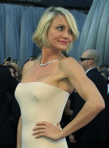 Cameron Diaz paparazzi boobs pic