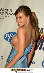 Carmen Electra nipple slip moments