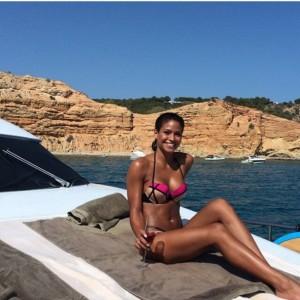 Cassie Ventura yacht