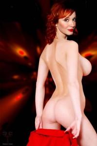 Christina Hendricks fully naked