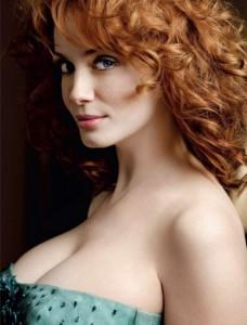 Christina Hendricks nipple slip