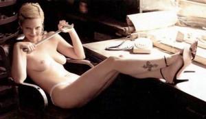 Drew Barrymore nudity
