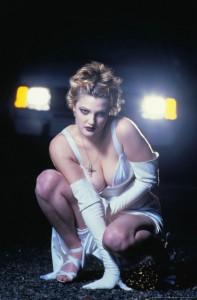 Drew Barrymore oops