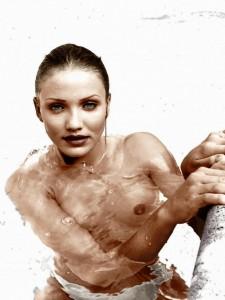 naked Cameron Diaz