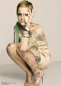 Emma Watson new look