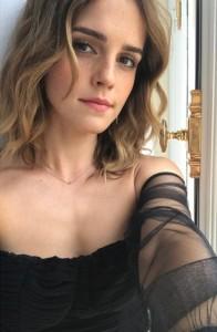 Emma Watson new selfie