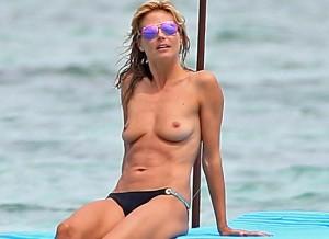Heidi Klum leaked paparazzi
