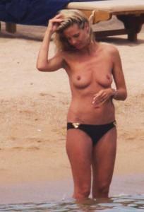 Heidi Klum leaked topless paparazzi