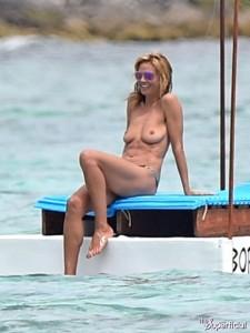 Heidi Klum paparazzi bora bora