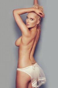 Helen Flanagan topless ass