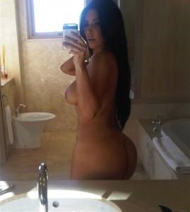 Kim Kardashian fully nude