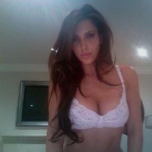 Kim Kardashian in sexy lingerie