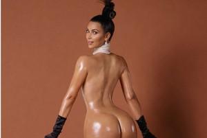Kim Kardashian oil