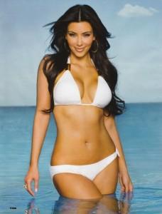 Kim Kardashian sexy in bikini