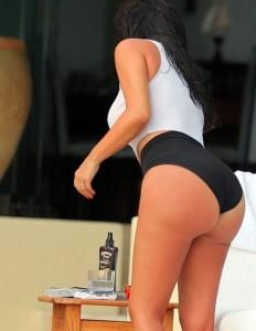 Kim Kardashian spy