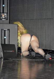 Lady Gaga cameltoe