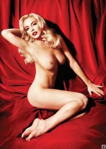 Lindsay Lohan naked photoshoot