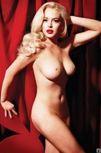 Lindsay Lohan nude photoshoot