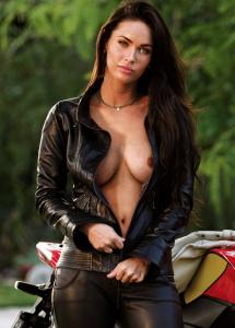 Megan Fox nip slip