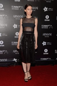 Rooney Mara sexy dress