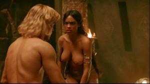 Rosario Dawson naked scene screencap