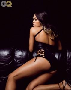 Rosario Dawson sexy lingerie gq