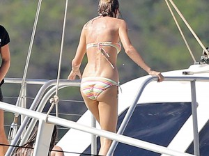 Taylor Swift on yacht