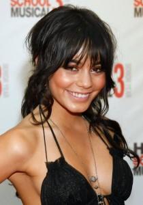 Vanessa Hudgens sexy black dress