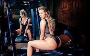 Khloe Kardashian sexy booty