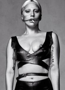 Lady Gaga nipple slip