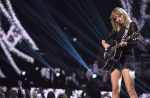 Taylor Swift legs on stage