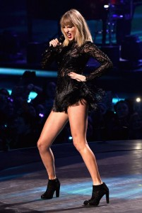 Taylor Swift on stage sexy