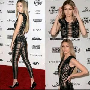 Gigi Hadid sexy dress