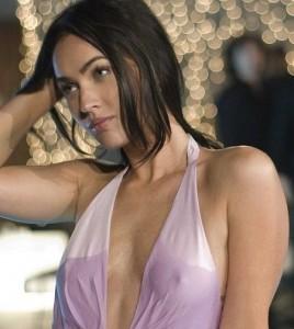 Megan Fox wet nipples