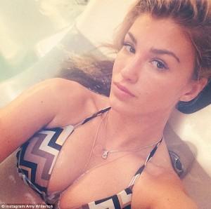 Amy Willerton selfie sexy