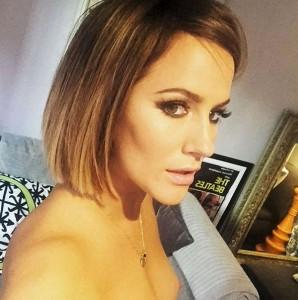 Caroline Flack selfie