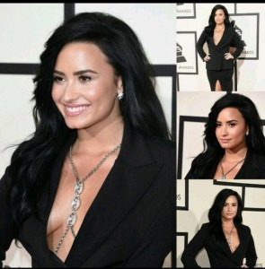Demi Lovato nipple slip
