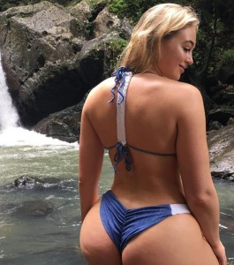 Iskra Lawrence big booty