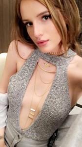 Bella Thorne sexy dress