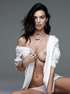 Emily Ratajkowski nipples