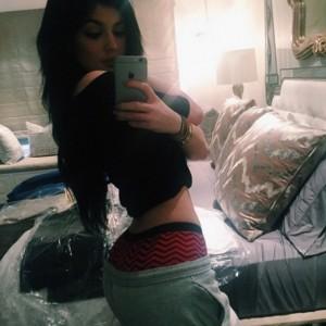 Kendall Jenner ass selfie