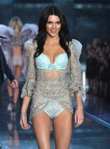 Kendall Jenner on stage