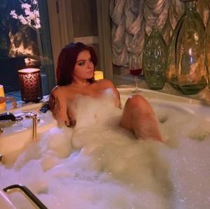 Ariel Winter at bathtub