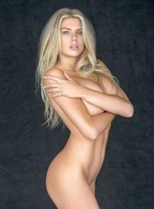 Charlotte McKinney naked photoshoot